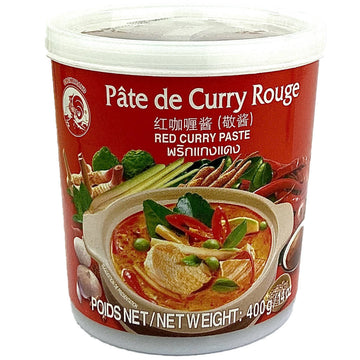 Pate de curry rouge Coq