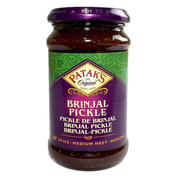 Pickle d'aubergine, Brinjal pickle, Medium, Patak's