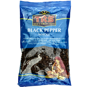 Whole black pepper seed TRS 100g and 400g