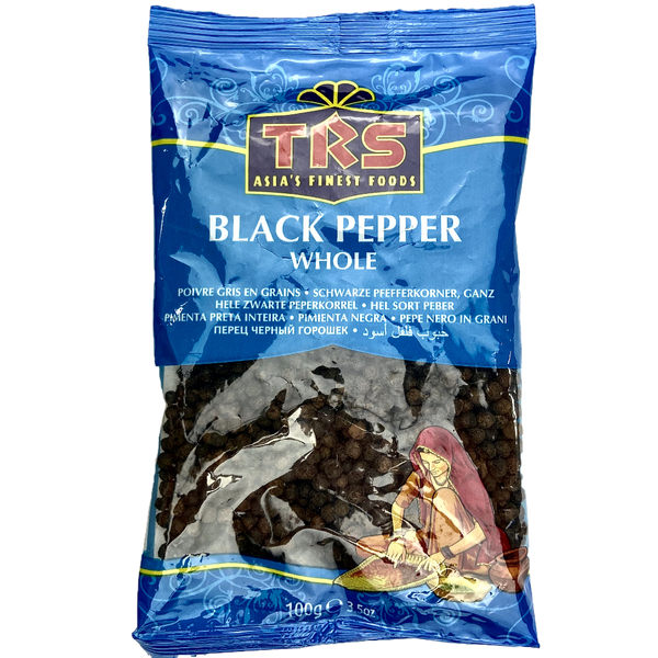 black pepper trs whole poivre gris en grains noir 100 g epice