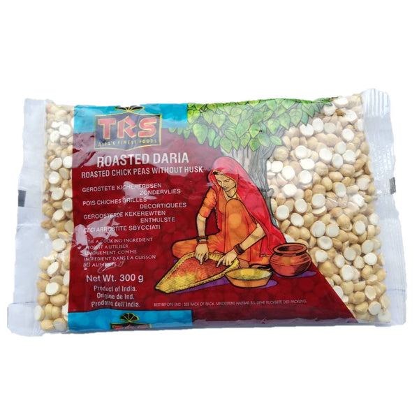 Roasted Chana Dal, Roasted Daria, TRS 300 g Sri-shop