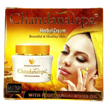 Crème visage Herbal Cream, Chandanalepa