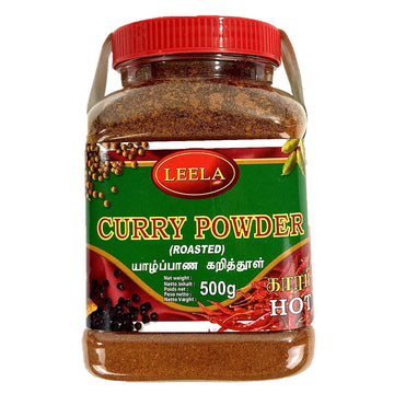 Curry en poudre torréfie Fort, Roasted Curry Powder Hot Leela
