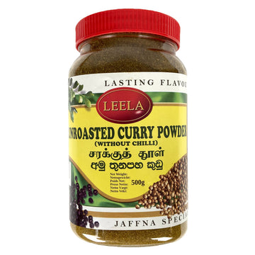 Curry en poudre Doux non torréfié, Unroasted curry powder Leela