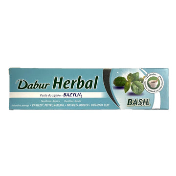 Dentifrice au Basilic, Dabur Herbal