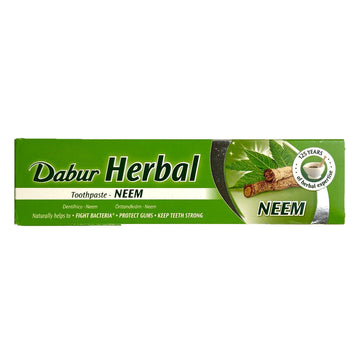 Dentifrice au Neem, Dabur Herbal