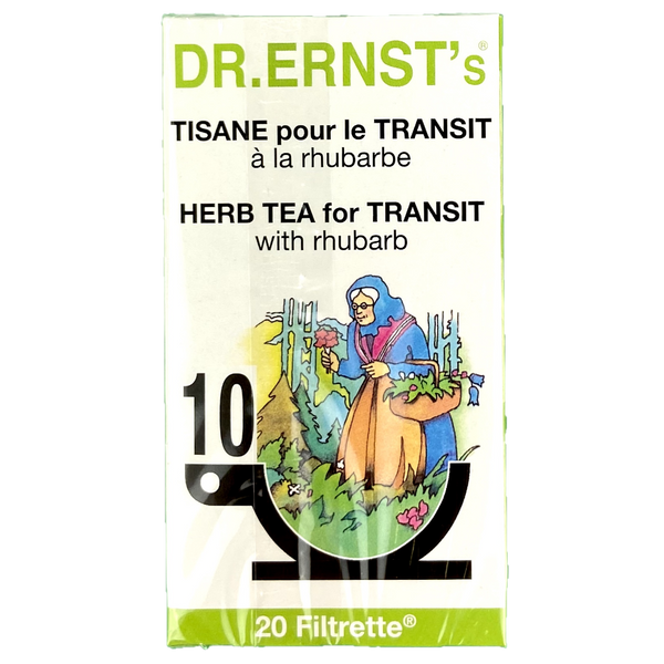 Tisane spécial transit Dr ernst's, ballonement, constipation, digestion