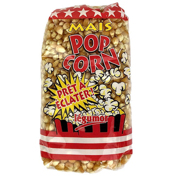 Maïs à Pop Corn, Legumor