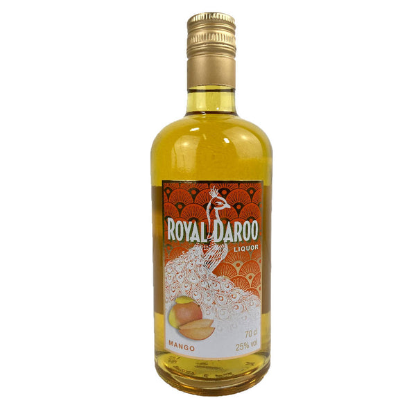 liqueur de mangue Royal Daroo, fabriqué en France Sri-shop