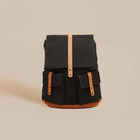 The Arrived Backpack - Black