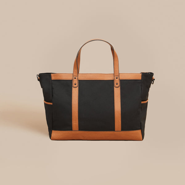 The Arrived Overnight Bag - Black