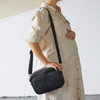 The Hayes Crossbody Baby Bag - Black