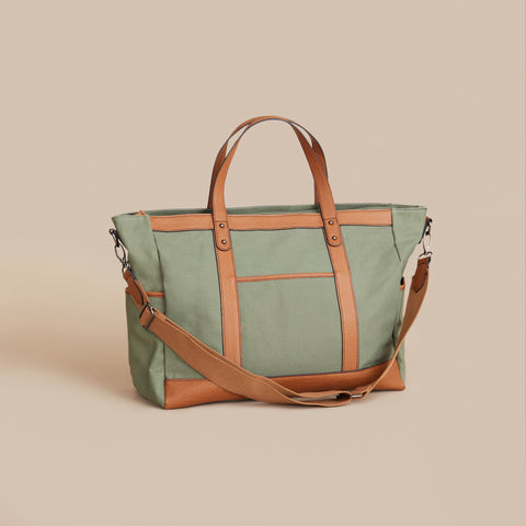 The Arrived Overnight Bag - Khaki