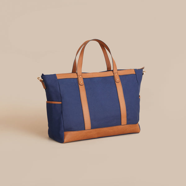 The Arrived Overnight Bag - Indigo