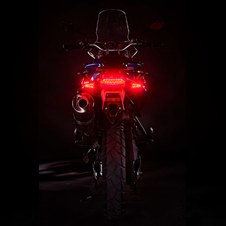 Weiser's 2-in-1 Brake Lights Activated