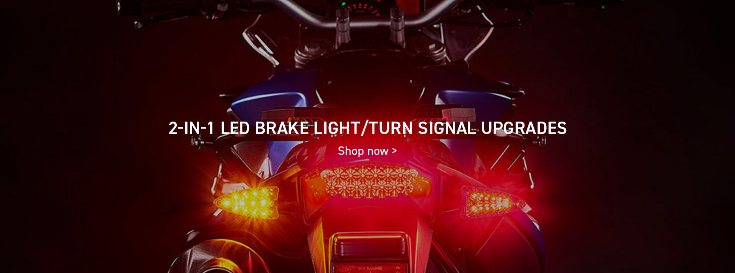 2-in-1 LED Brake Light/Turn Signal Upgrades desktop banner