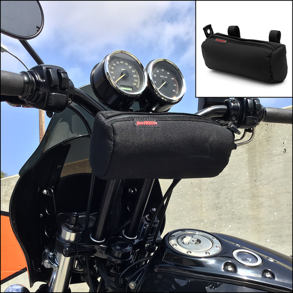 "MotoPOCKET by Weiser Motorcycle Handlebar Bag – Horizontal Mount 4"" x 10.5"""