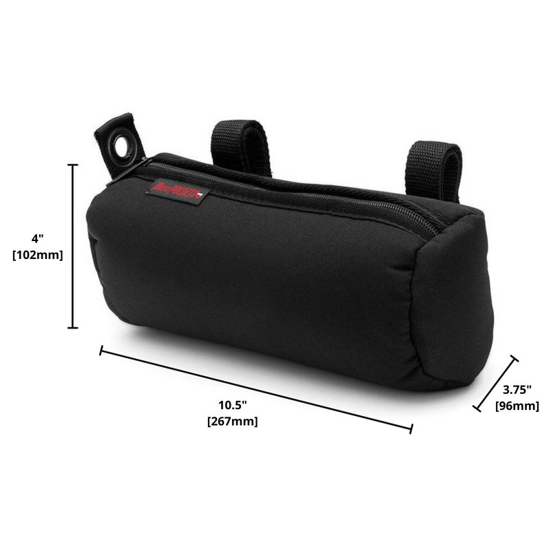 "MotoPOCKET Handlebar Bag – Horizontal Mount 4"" x 10.5"" x 3.75"""