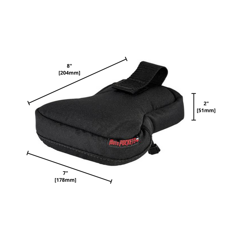 "MotoPOCKET Tail Bag 7"" x 8"" x 2"""