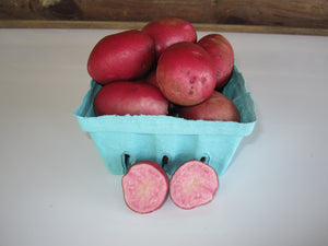Triune Adirondack Red Potatoes, 1 quart container