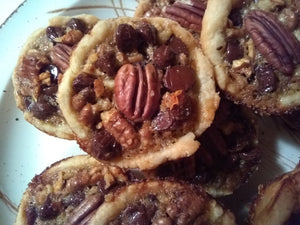 Mini Chocolate Pecan Pies, Box of 4