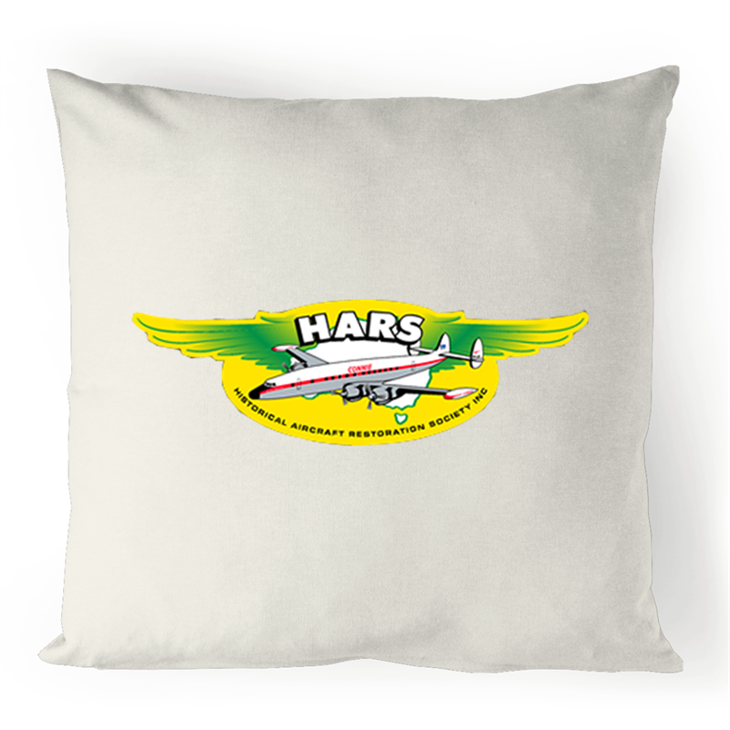 HARS Logo Linen Cushion Cover