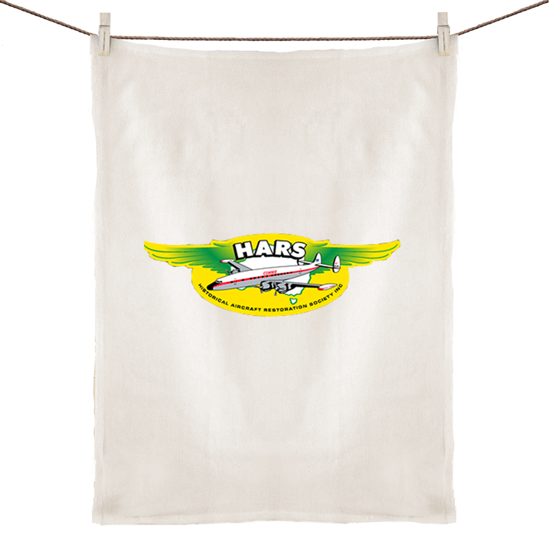 HARS Logo Linen Tea Towel
