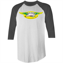 Load image into Gallery viewer, HARS Logo 3/4 Sleeve T-Shirt