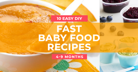 Fast & Easy Baby Food Purees