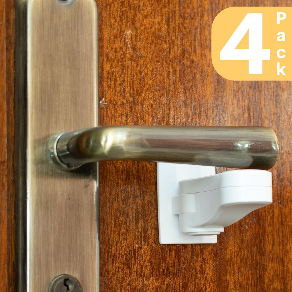 Door Lever Locks (4-Pack)