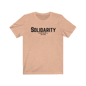 Solidarity Voices Unisex Jersey Short Sleeve Tee