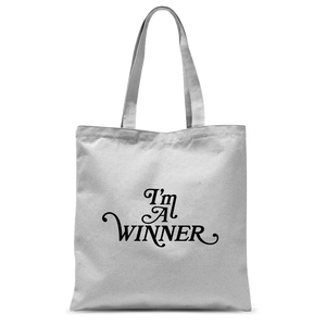 I'm a WINNER Classic Sublimation Tote Bag
