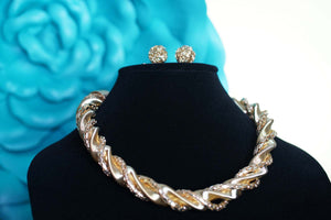 Igboya (Bold) Golden Chain Link Statement Necklaces