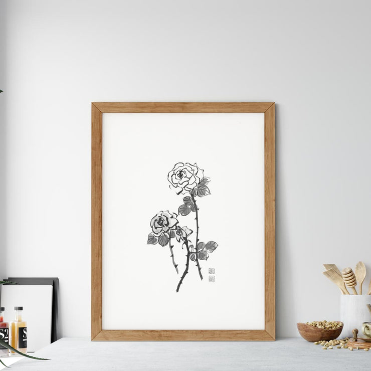 Rose Art Print / Framed Art