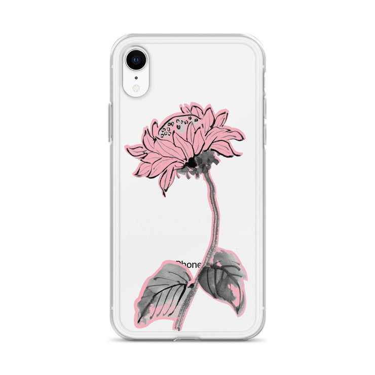 Sunflower iPhone Case - Pink