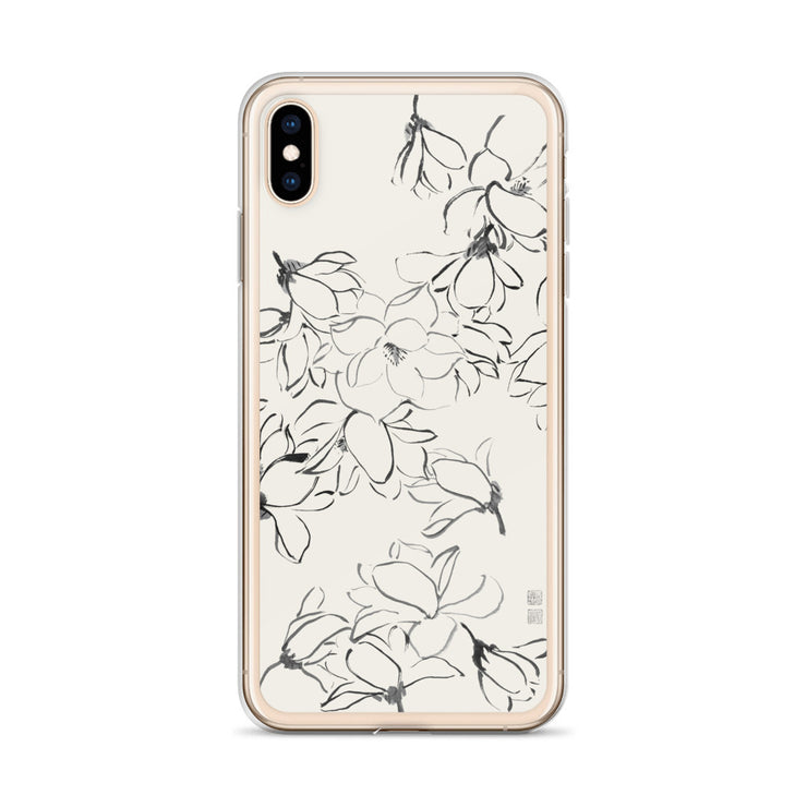 Magnolia iPhone Case - Coconut Milk