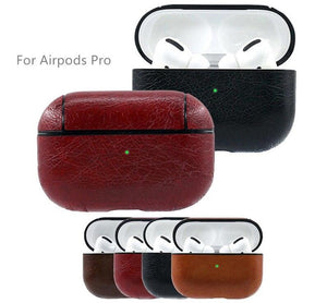 AIRPOD PRO LEATHER PROTECTIVE CASE SKIN COVER