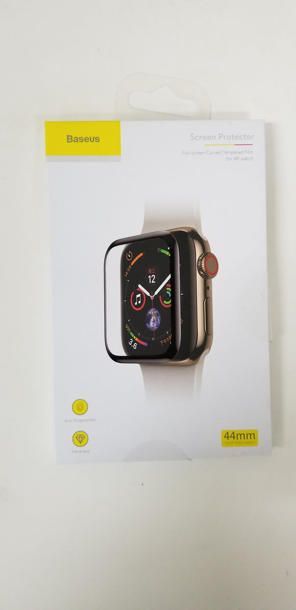 Baseus Tempered Glass Screen Protector Protective Case For Apple Watch Series 1/2/3/4/5