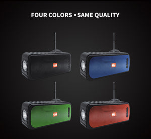 BLUETOOTH SPEAKER WIRELESS OUTDOOR INDOOR PORTABLE SOLAR INTELLIGENT CHARGING