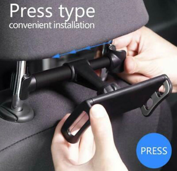 Back seat bracket for tablets Car Rear Pillow Stand