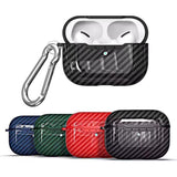For Air Pods Pro case Shockproof Earphones Protective Cover Case with Keychain