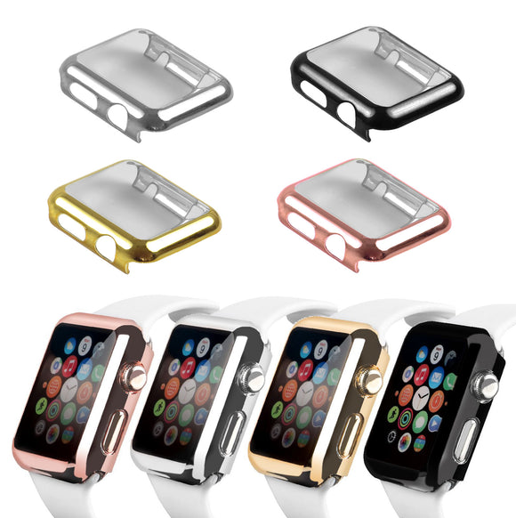 For Apple Watch iWatch Series 5 4 3 2 1 Case Full Cover 38 40 42 44mm