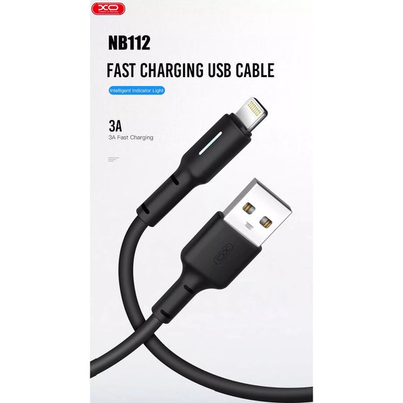 XO 3A FAST CHARGING USB CABLE MICRO,LIGHTENING AND TYPE C