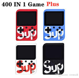 "SUP 400 in 1 mini handheld console 8-Bit 3"" screen"