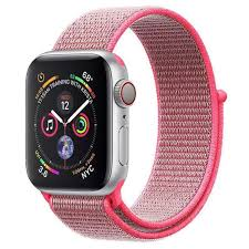 Nylon Woven Loop Sport Strap Band 38 40 42 44mm for Apple Watch Series 1 2 3 4 5