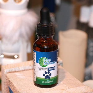 PureMidwest Pet Tincture 300mg | 30mL Full Spectrum