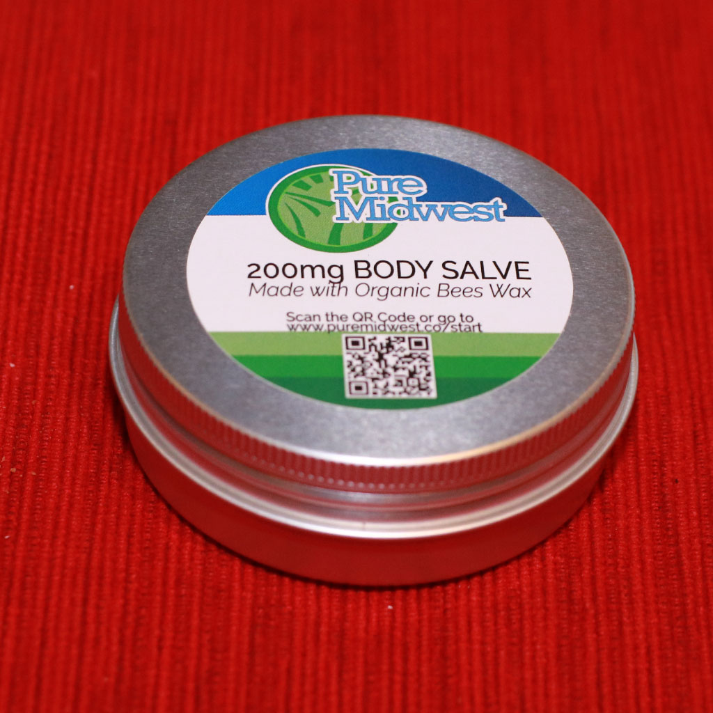 Pure Midwest 200mg Body Salve