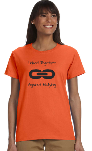 Anti- Bullying T- Shirt (Older Youth / Adult Sizes - Missy Style)