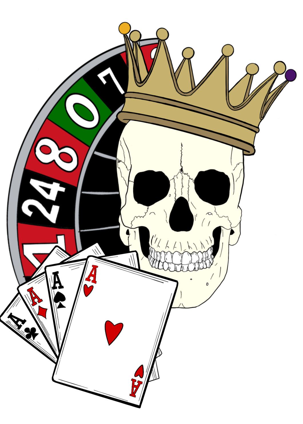King of Ace's Sticker