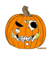 Load image into Gallery viewer, Jack-O-lantern Sticker